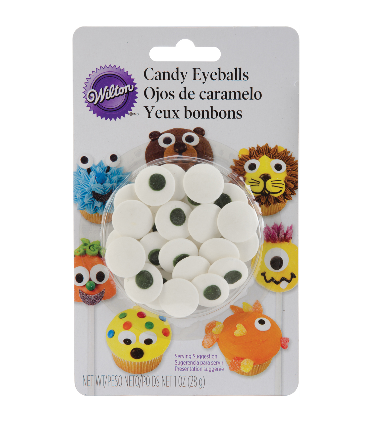 Wilton® Decorating Candy 1oz-Large Eyeball