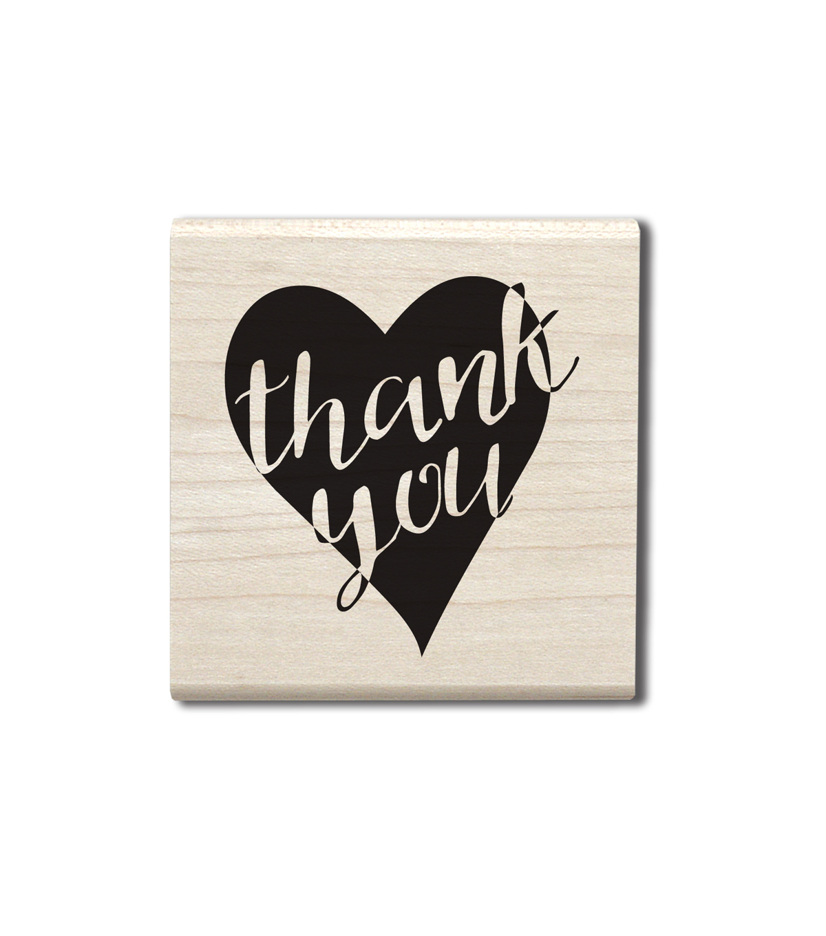 Hampton Art™ Wood Stamp Thank You Heart