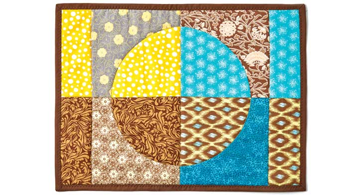 Quilted Circle Placemat