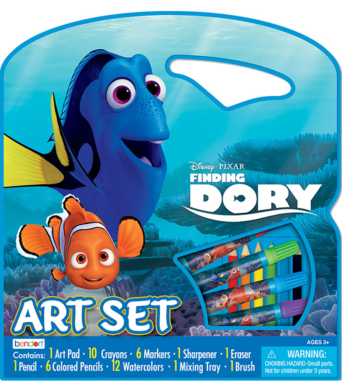Disney® Finding Dory Large Character Art Case