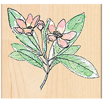 Penny Black Mounted Rubber Stamp A Branch Of