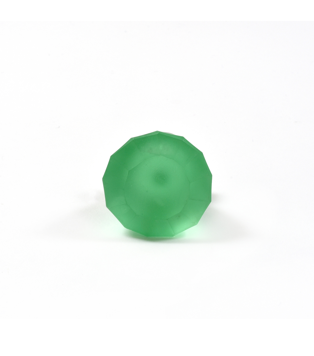 Dritz Home Frosted Glass Diamond Knob-Seafoam Green