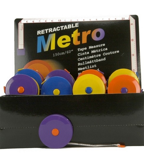 Retractable Metro Tape Measure
