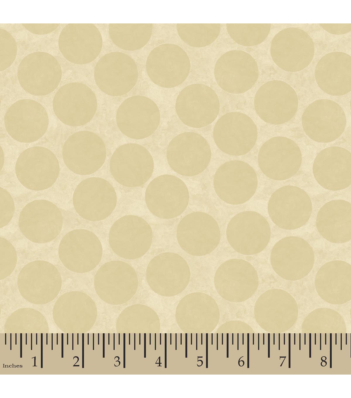 Susan Winget Flannel Fabric 42\u0022-Big Top Dot