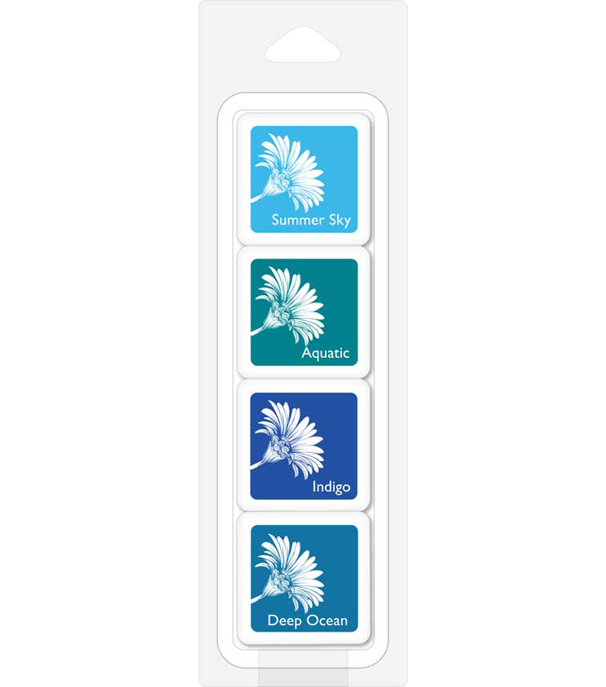 Hero Arts Bold Ink Cubes-Tropical Waters