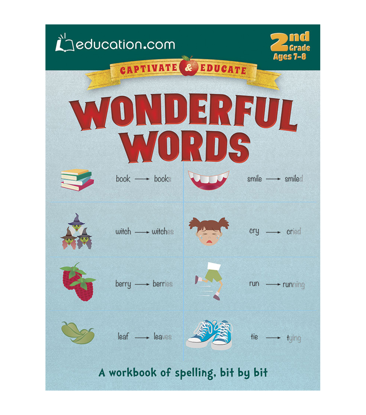 Wonderful Words Book