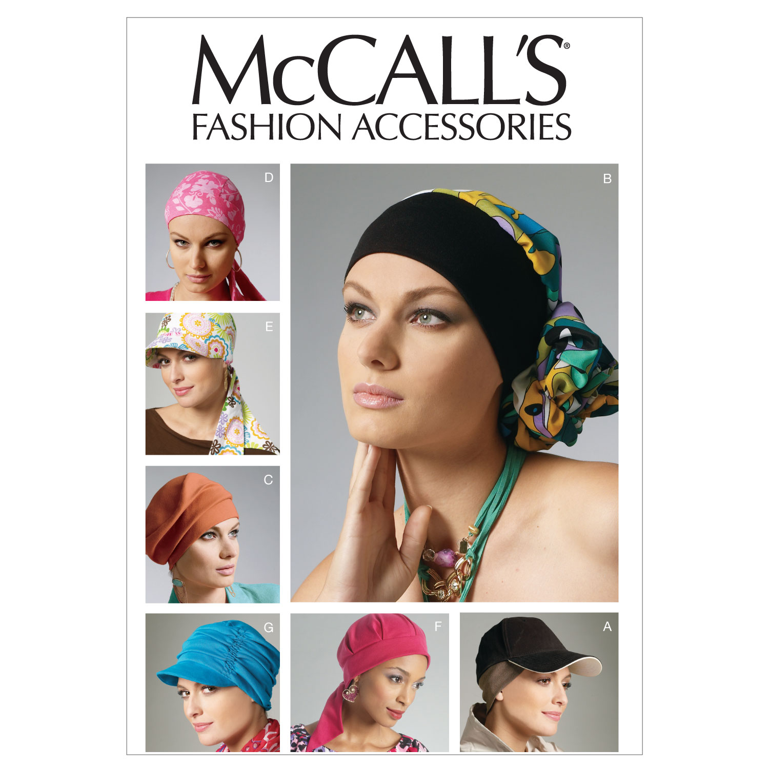 McCall\u0027s Misses Headgear-M6521