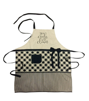 Hudson 43 Farm 35.25\u0027\u0027x27\u0027\u0027 Apron-You Cook I\u0027ll Clean