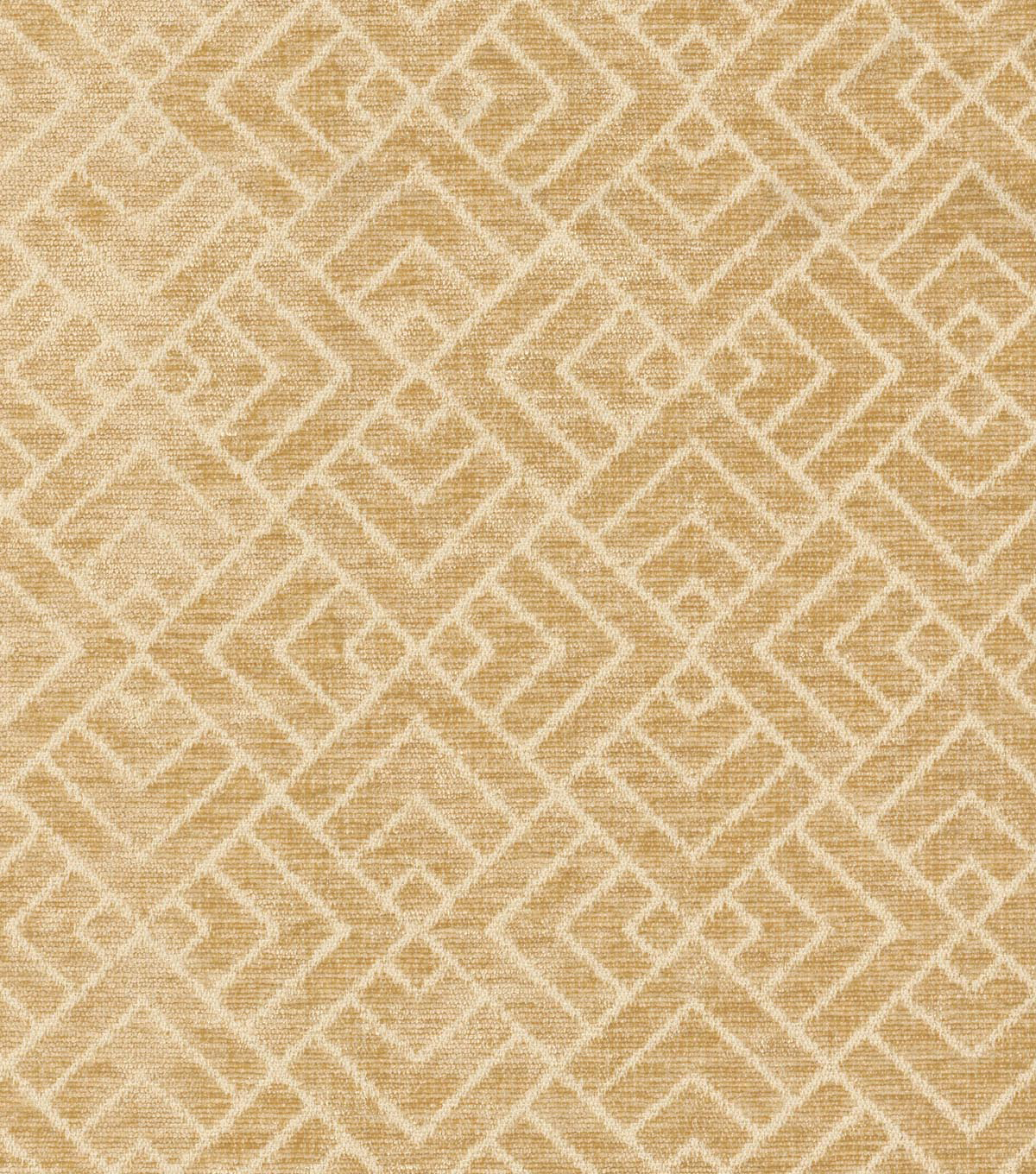 "IMAN Home Upholstery Fabric 54""-Tambal Lattice/Desert Sand"