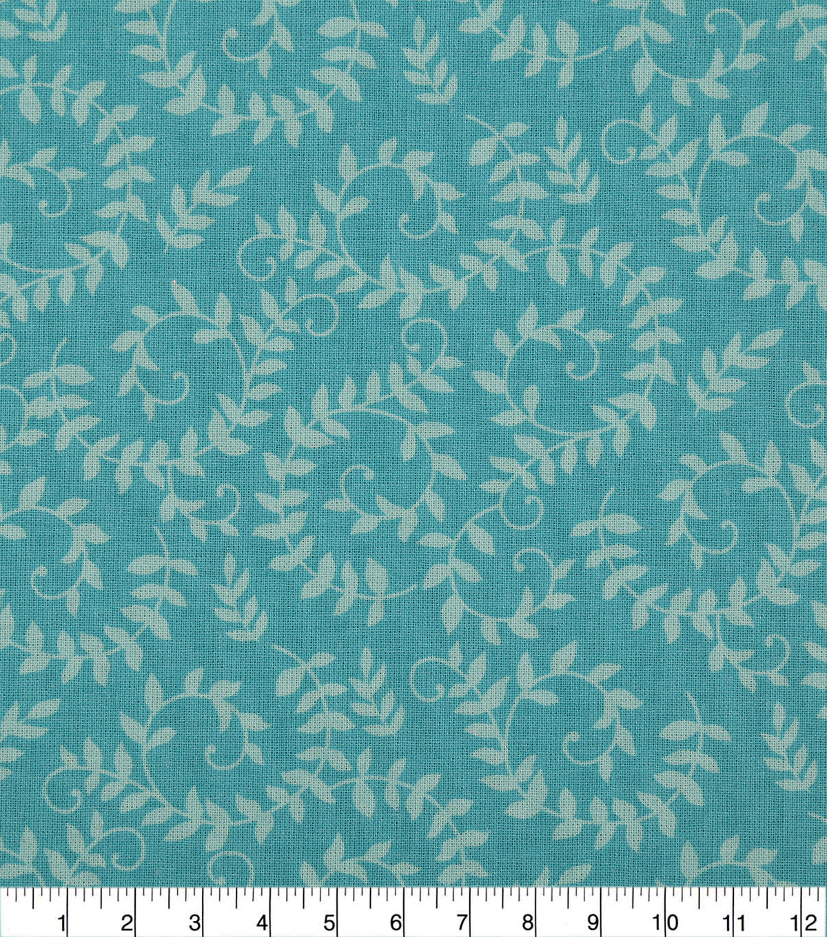 Wide Quilt Cotton Backing Fabric 108\u0022-Blue Radiance Scroll