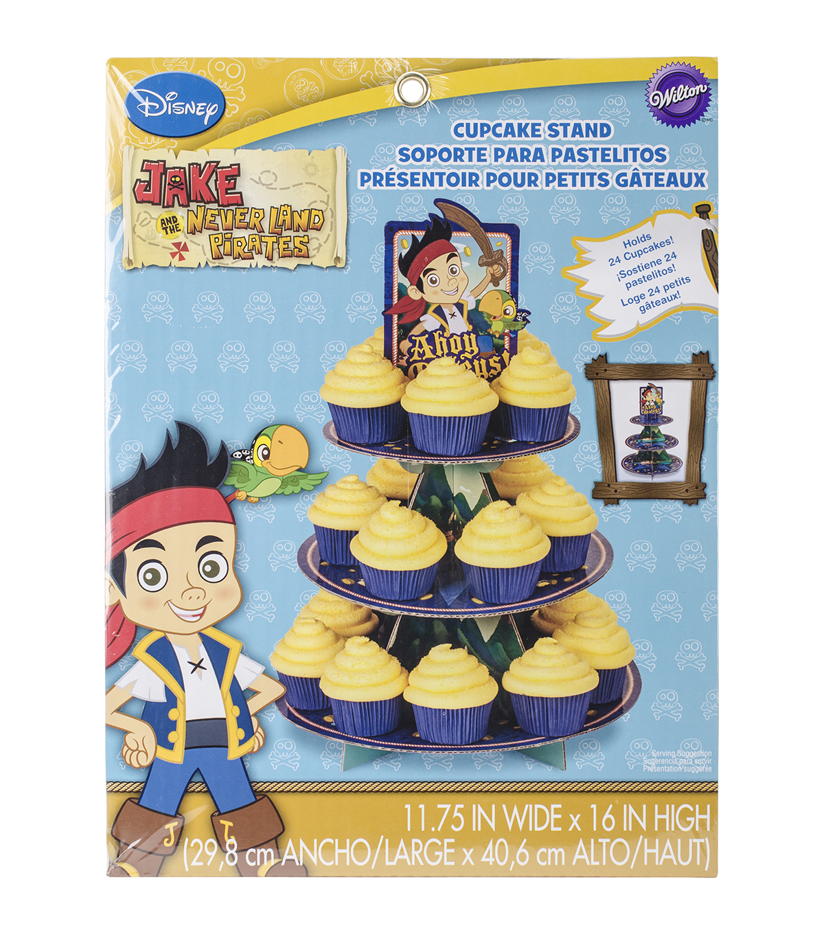 Wilton® Cupcake Stand-Jake and the Never Land Pirates
