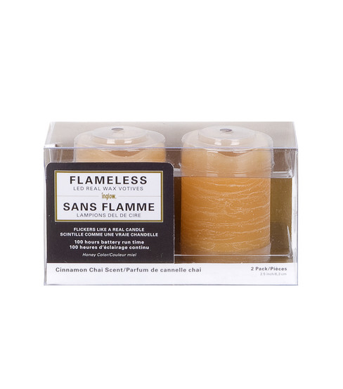 Hudson 43™ Candle&Light Collection 2 Pack Honey Votives Flameless