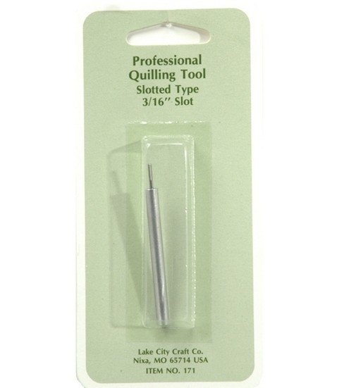 Professional Quilling 3/16\u0022 Slotted Tool