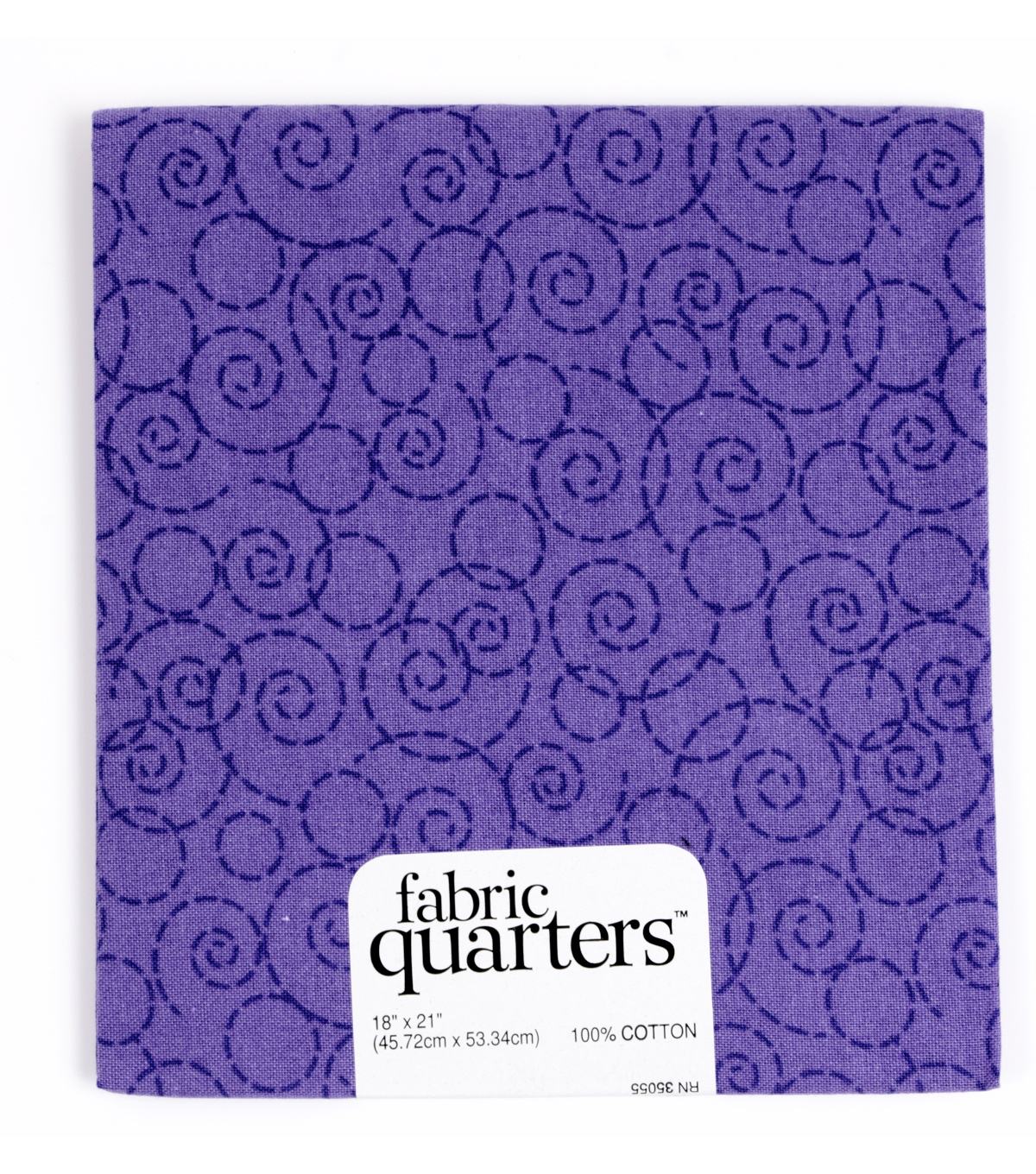Fabric Quarters Cotton Fabric 18\u0022-Assorted Purple