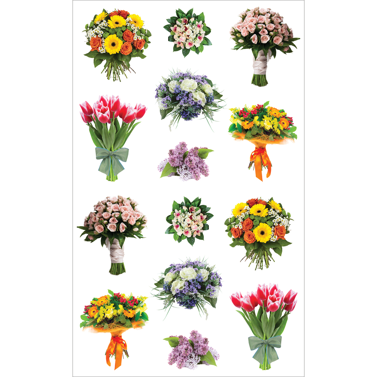 Mrs. Grossman\u0027s Stickers Beautiful Bouquets