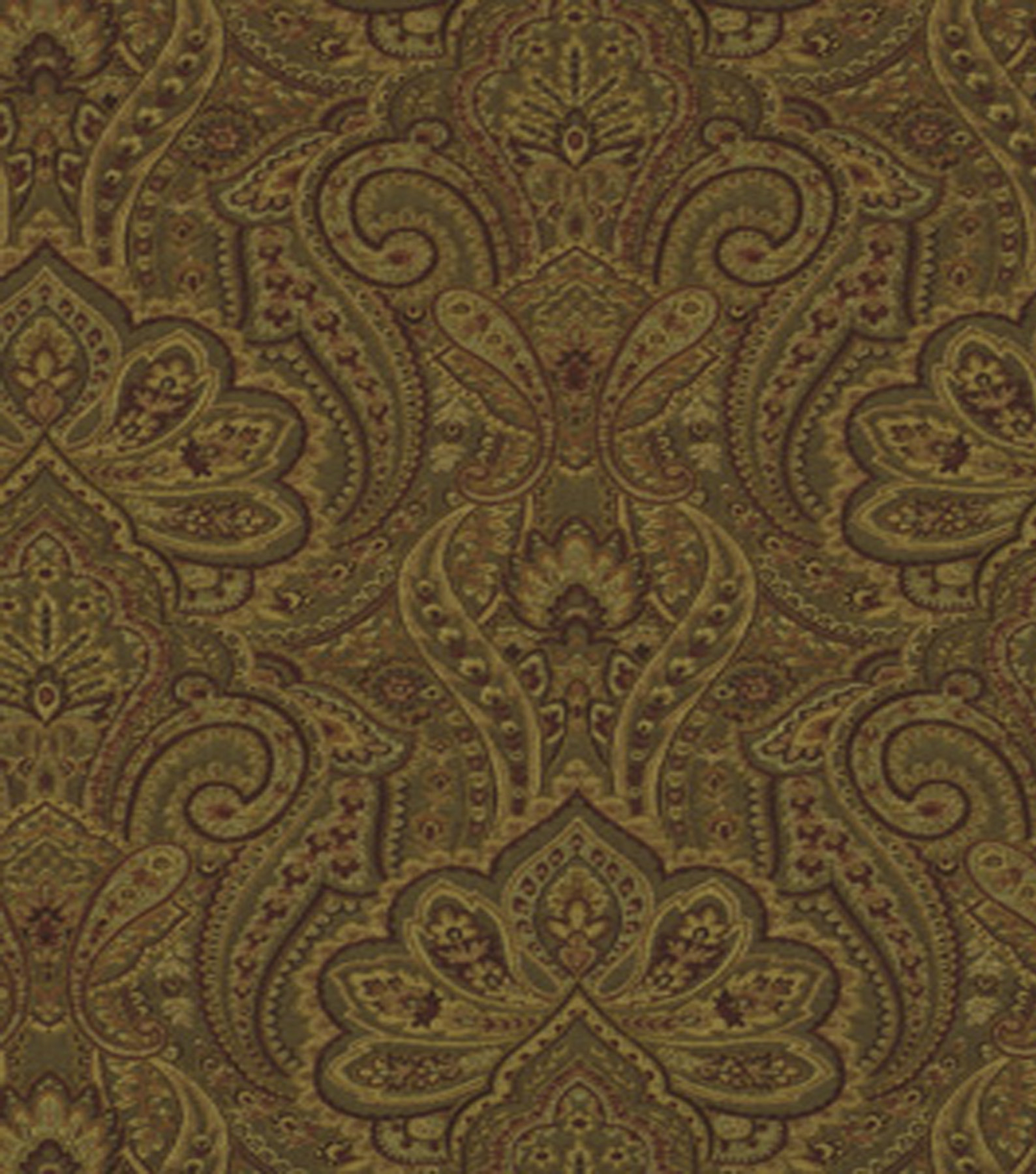 "Home Decor 8""x8"" Fabric Swatch-Solid Fabric Robert Allen Edwardian Spice"