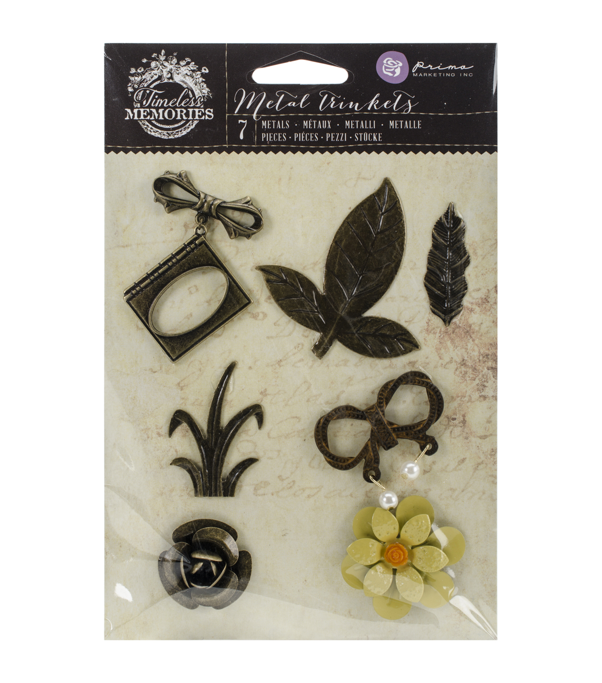 Prima Marketing Timeless Memories Metal Recollection Trinkets