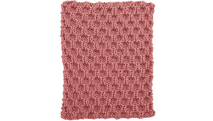 Knit Honeycomb Square??