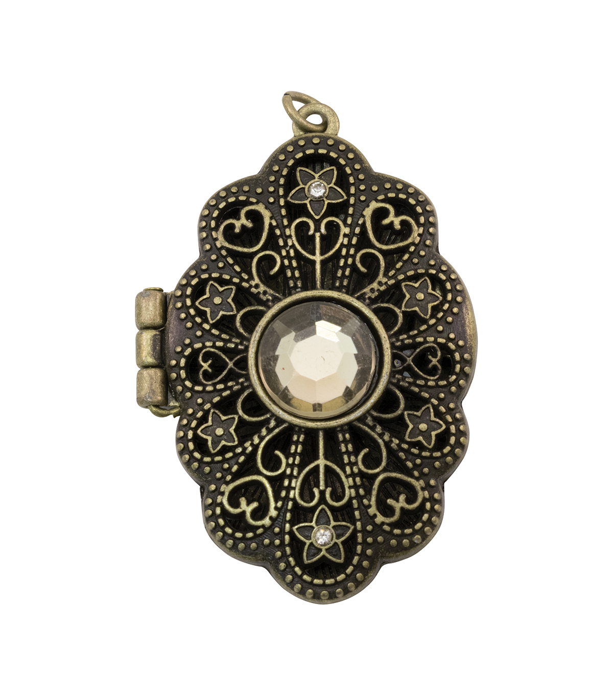Tim Holtz® Assemblage Jeweled Baroque Locket
