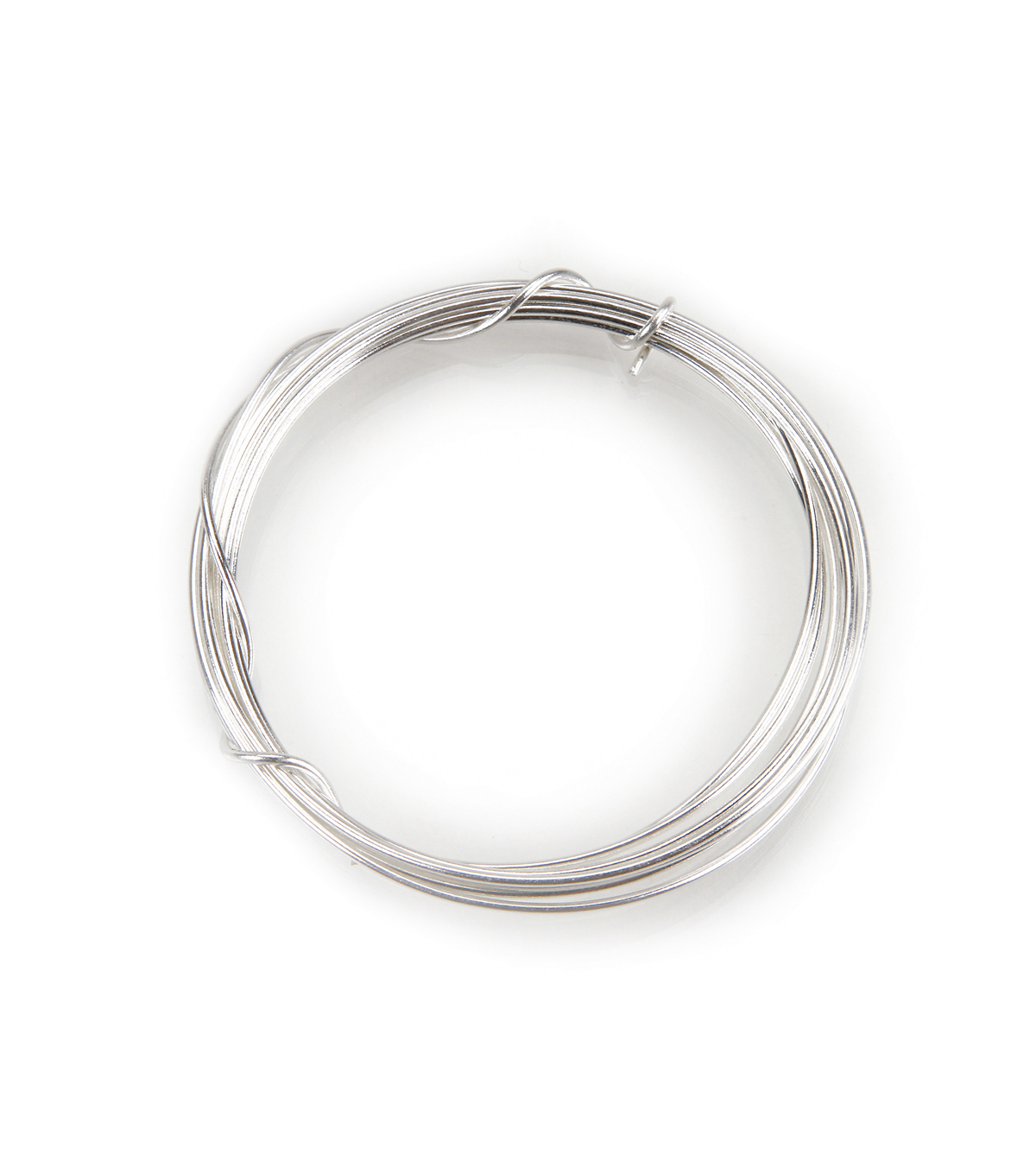 Sterling Silver Plated Jewelry Wire, 20 Gauge, 7 grams