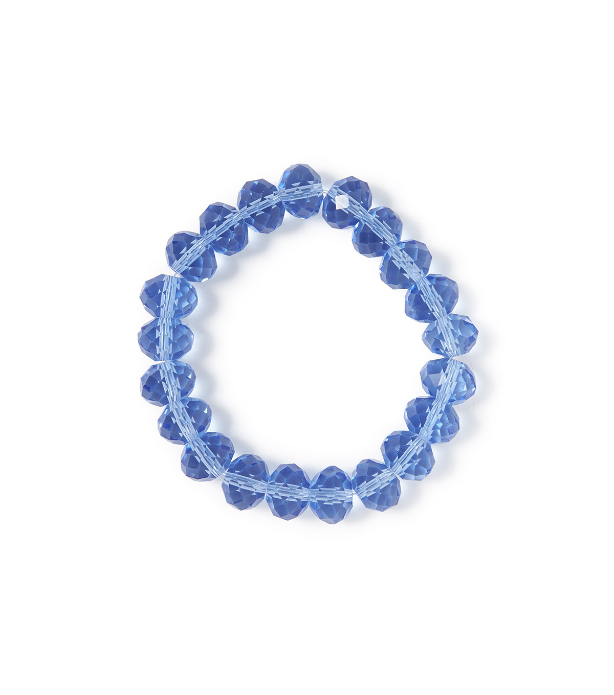 Hey Doll DIY Monogram Bracelet-Blue Bead