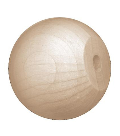 Darice Wood Ball Knobs
