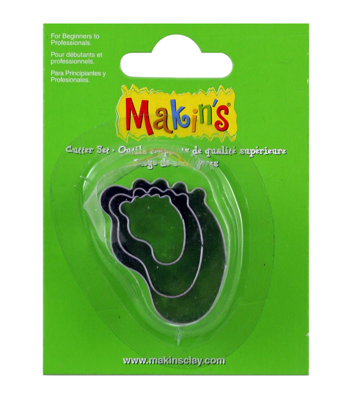Makin's USA Baby Foot Clay Cutters