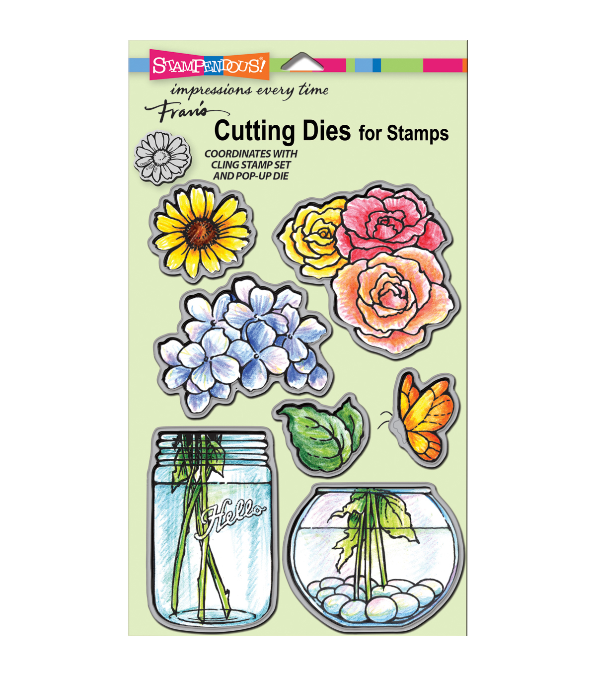 Stampendous Dies-Build A Bouquet Set
