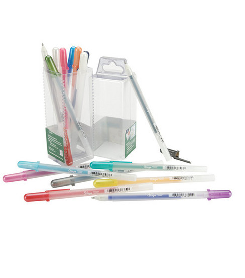 Gelly Roll Glaze Bold Point Pens 16/Pkg-Assorted Colors
