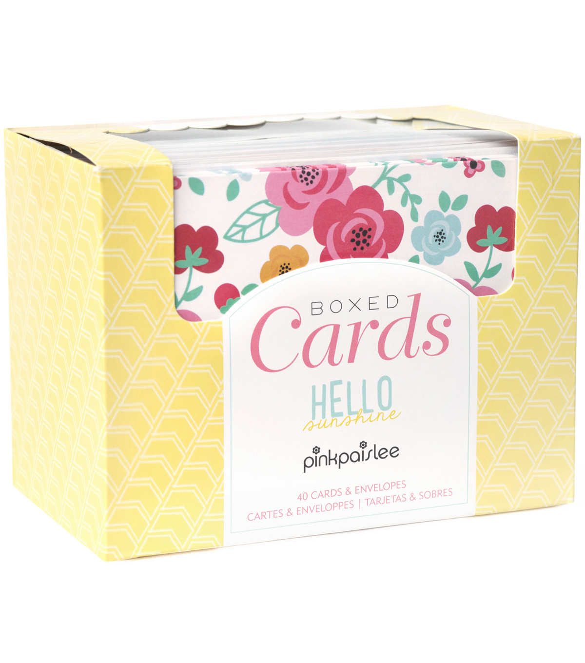 Pink Paislee Hello Sunshine A2 Cards & Envelopes