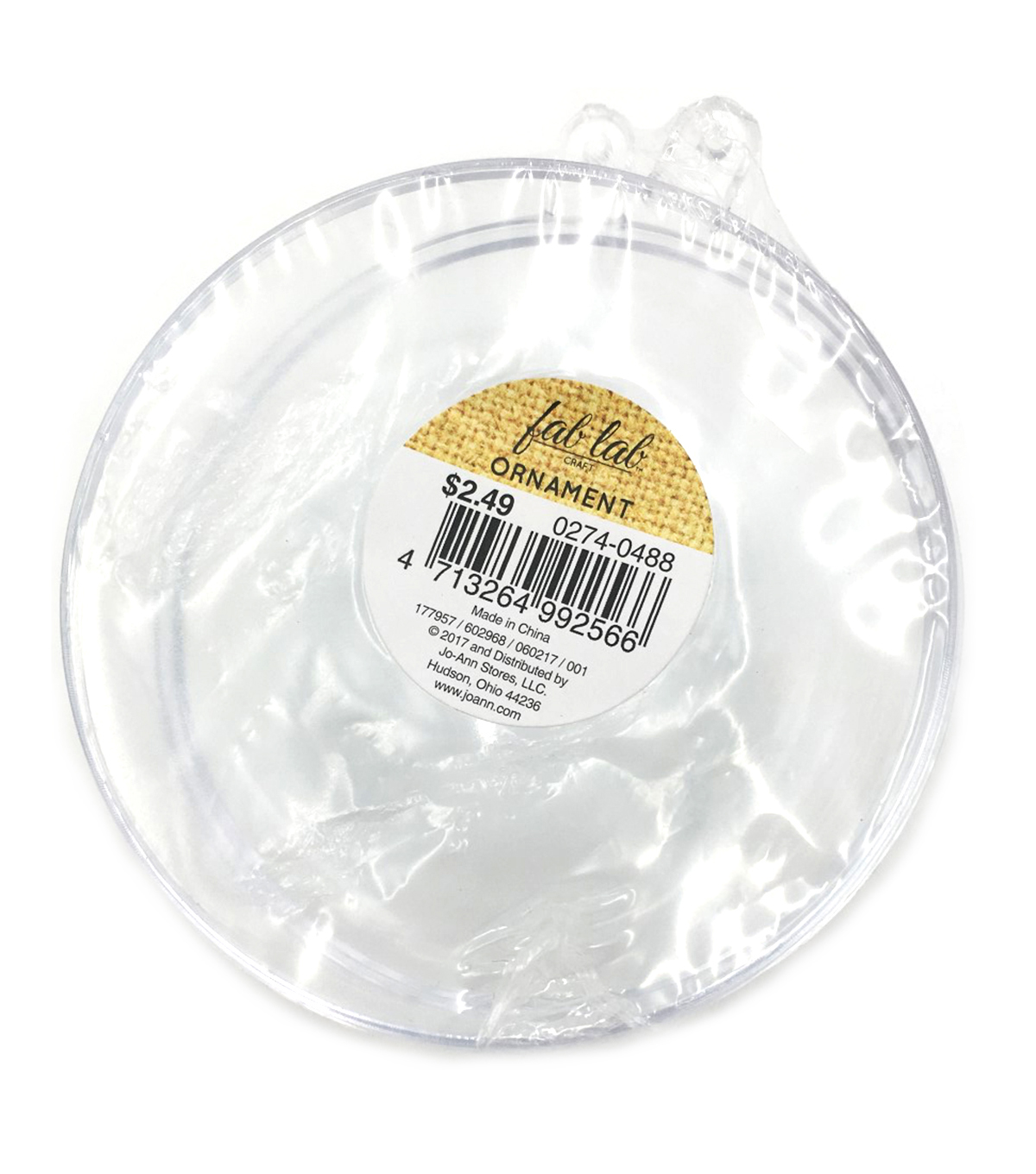 80mm Clear Ball