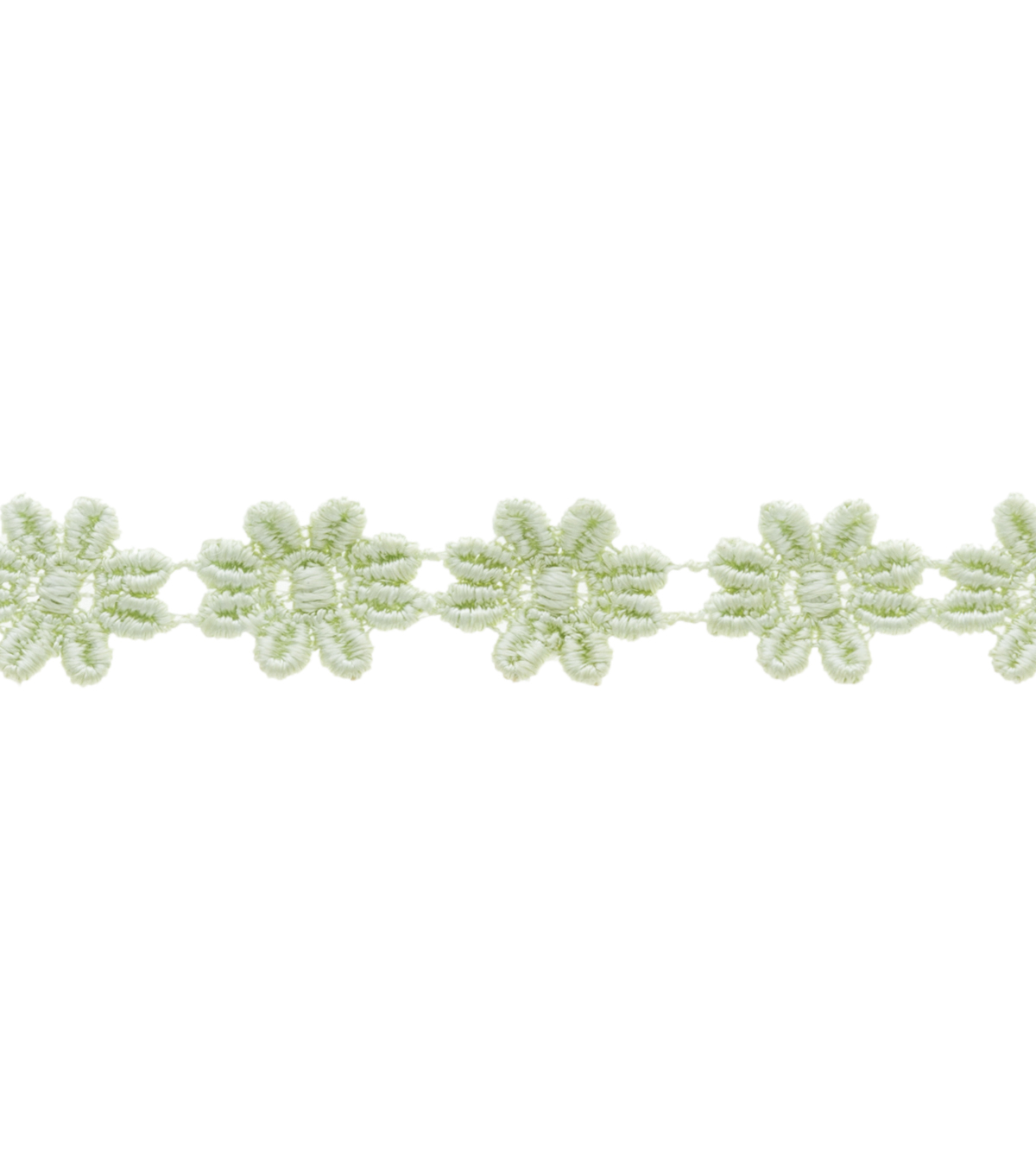 1/2\u0022 Celadon Mini Daisy Venice Apparel Trim