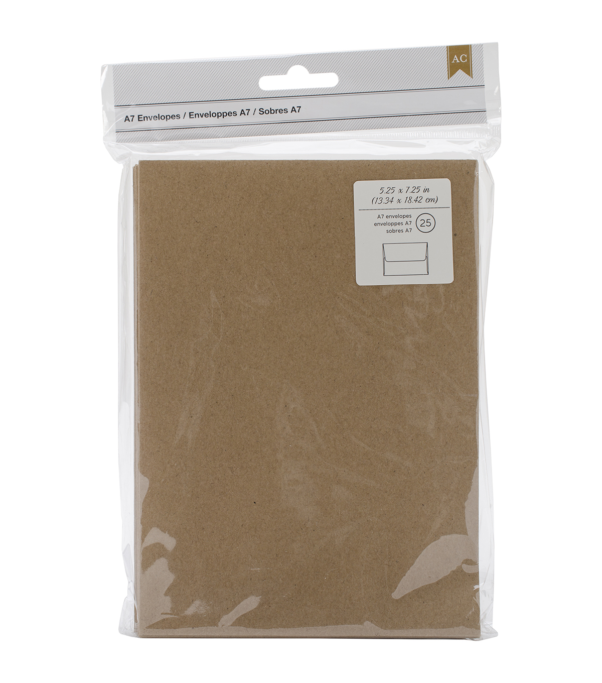 American Crafts A7 Envelopes 5.25\u0027\u0027x7.25\u0027\u0027