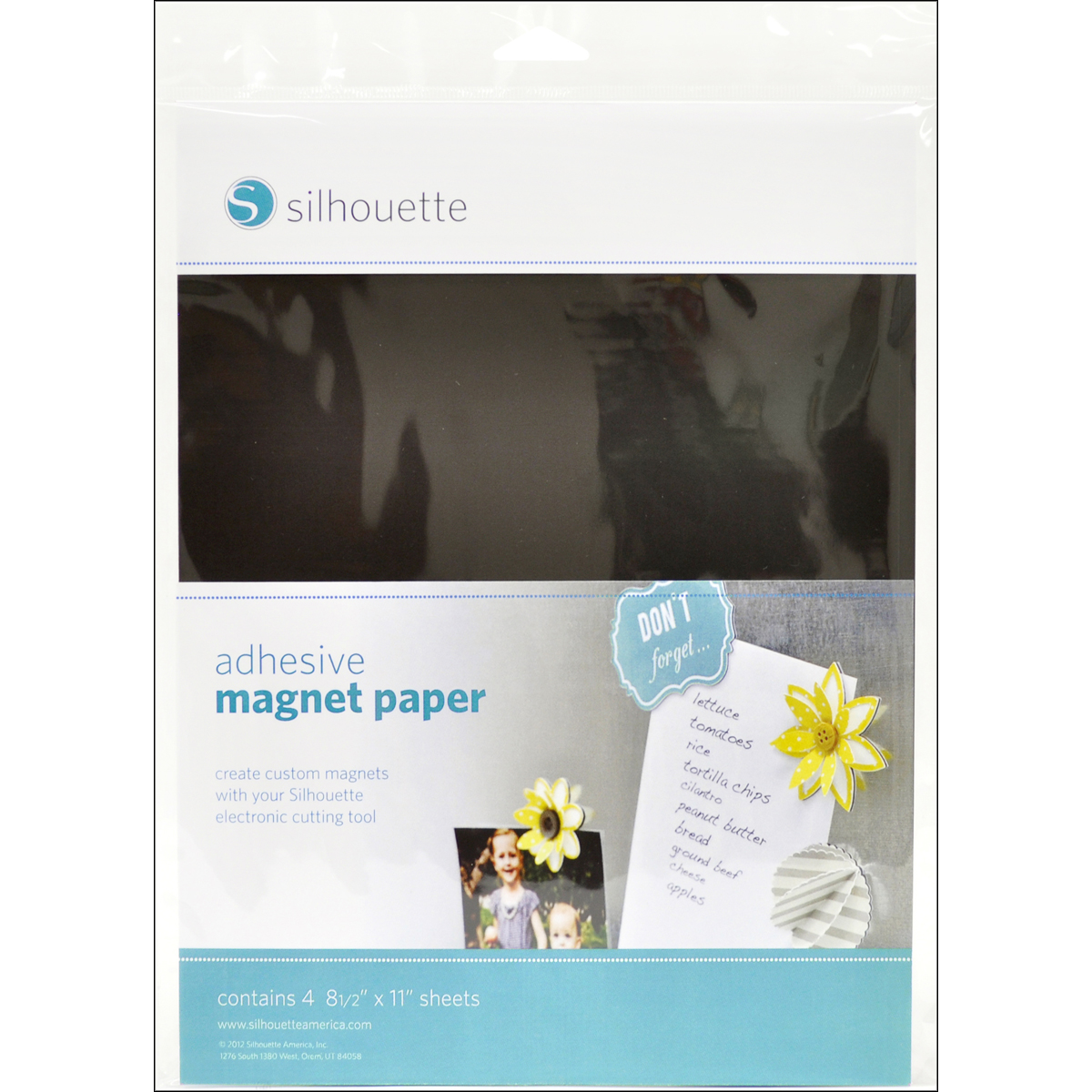 Silhouette America Inc Adhesive Magnet Paper