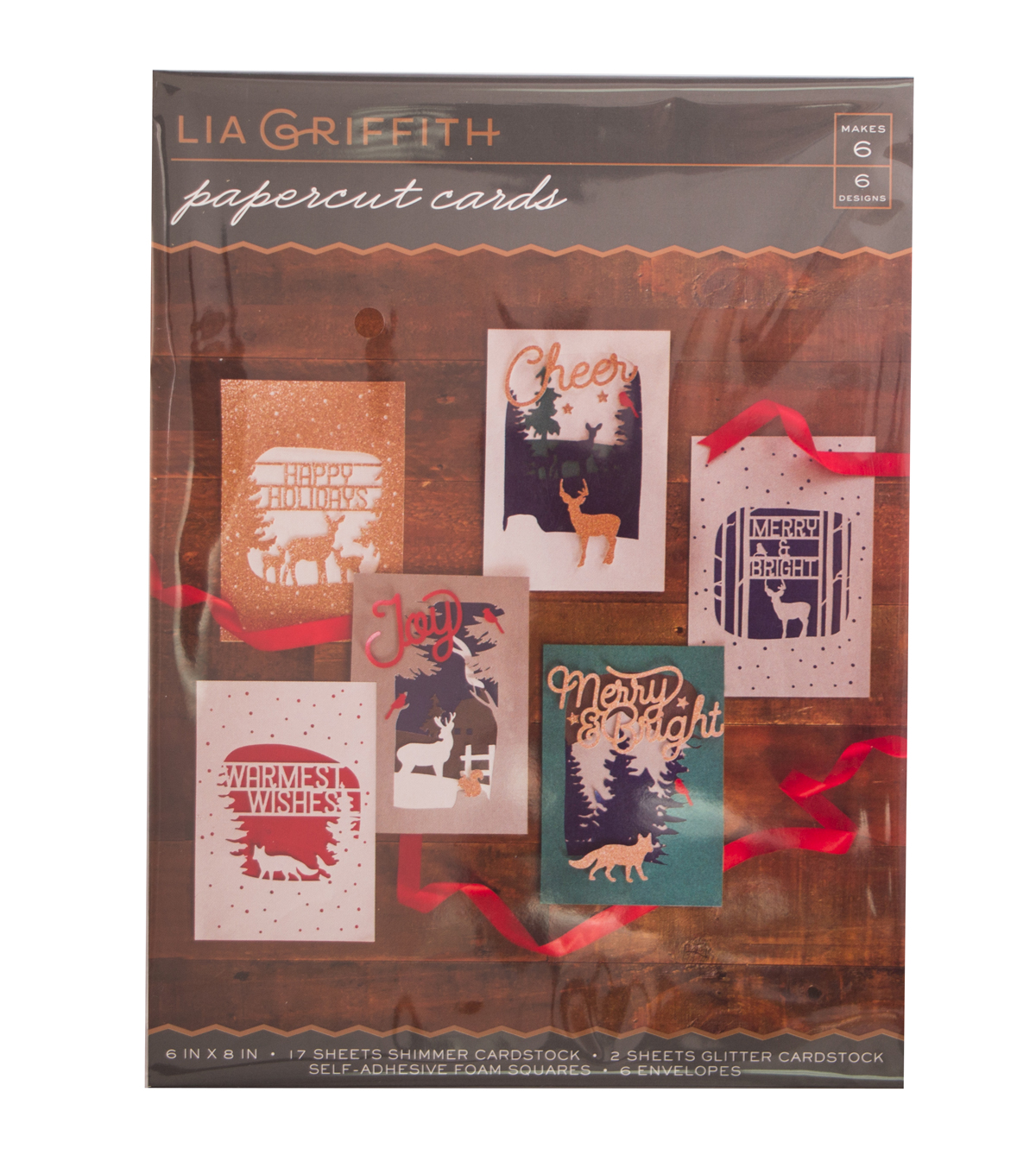 Lia Griffith Papercut Cards Set