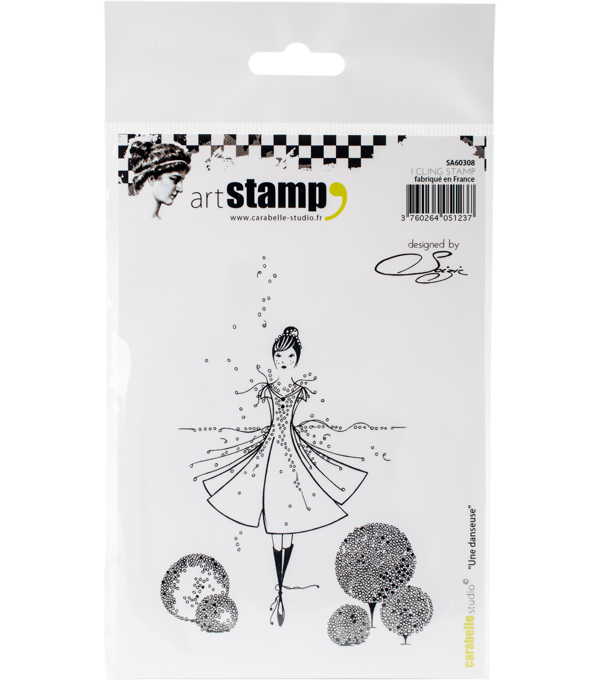Carabelle Studio Cling Stamp A6 By Soizic-A Dancer