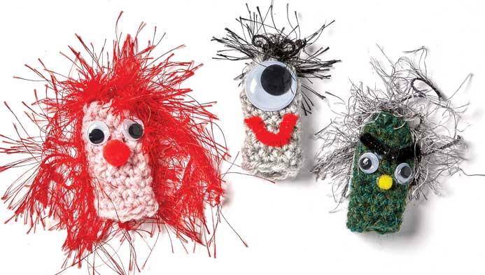 Kids' Crochet Finger Puppets