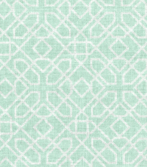Nursery Fabric - Opal Blue Diamond