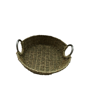 Organizing Essentials™ Seagrass Basket With Handle