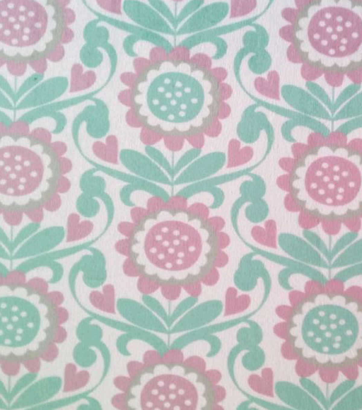 "Soft N Comfy Fabric 58""-Flower Orchid"