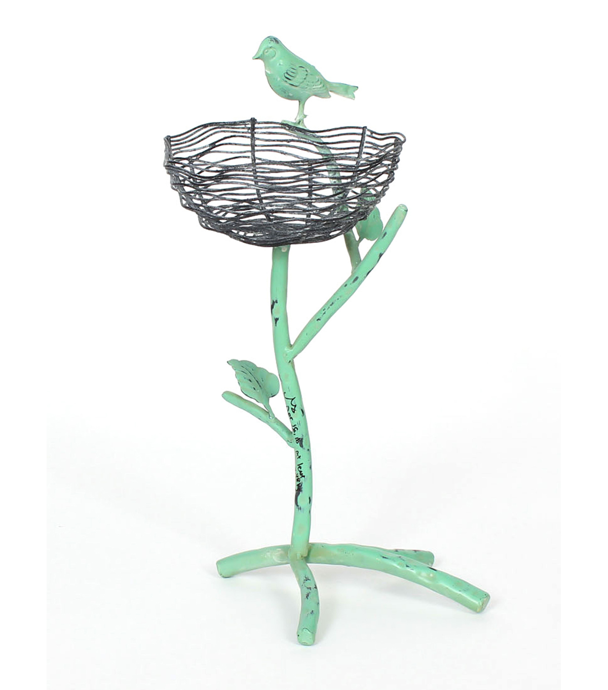 Wild Blooms Metal Standing Branch Feeder