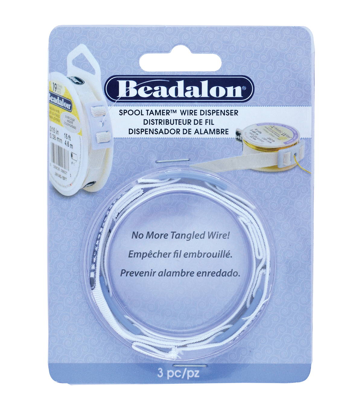 Beadalon Spool Tamer (TM) Wire Dispenser 3pc