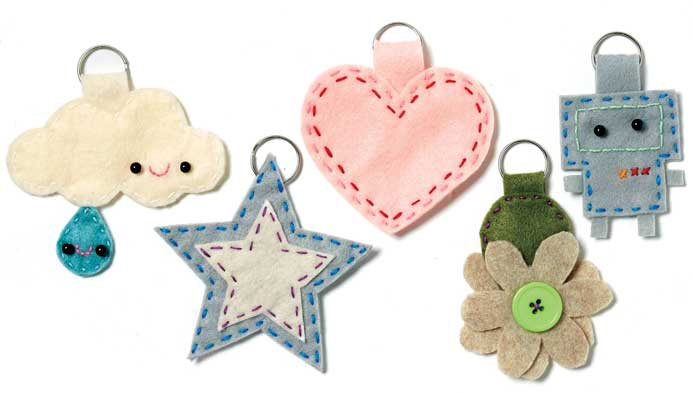 Kids' Hand-Sewn Backpack Tags