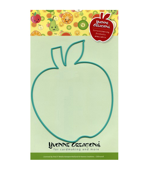 Yvonne Creations Die-Apple