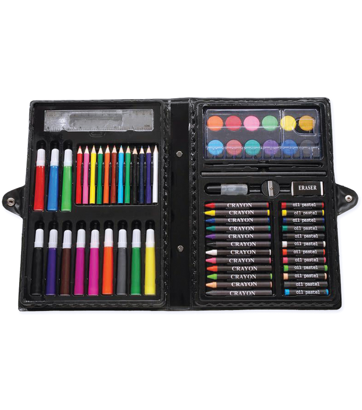 Darice Artyfacts Portable Art Studio Kit-68 Pieces