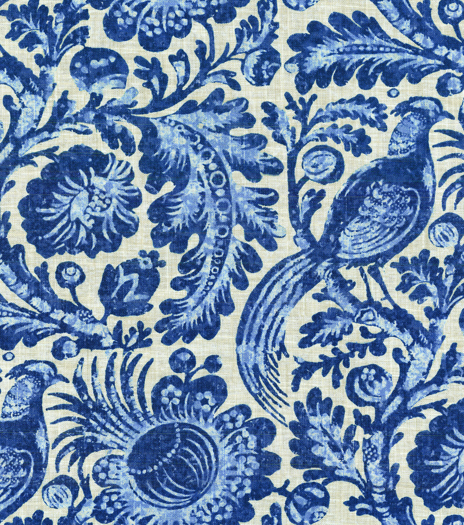 Williamsburg Upholstery Fabric 54\u0022-Savannah Porcelain