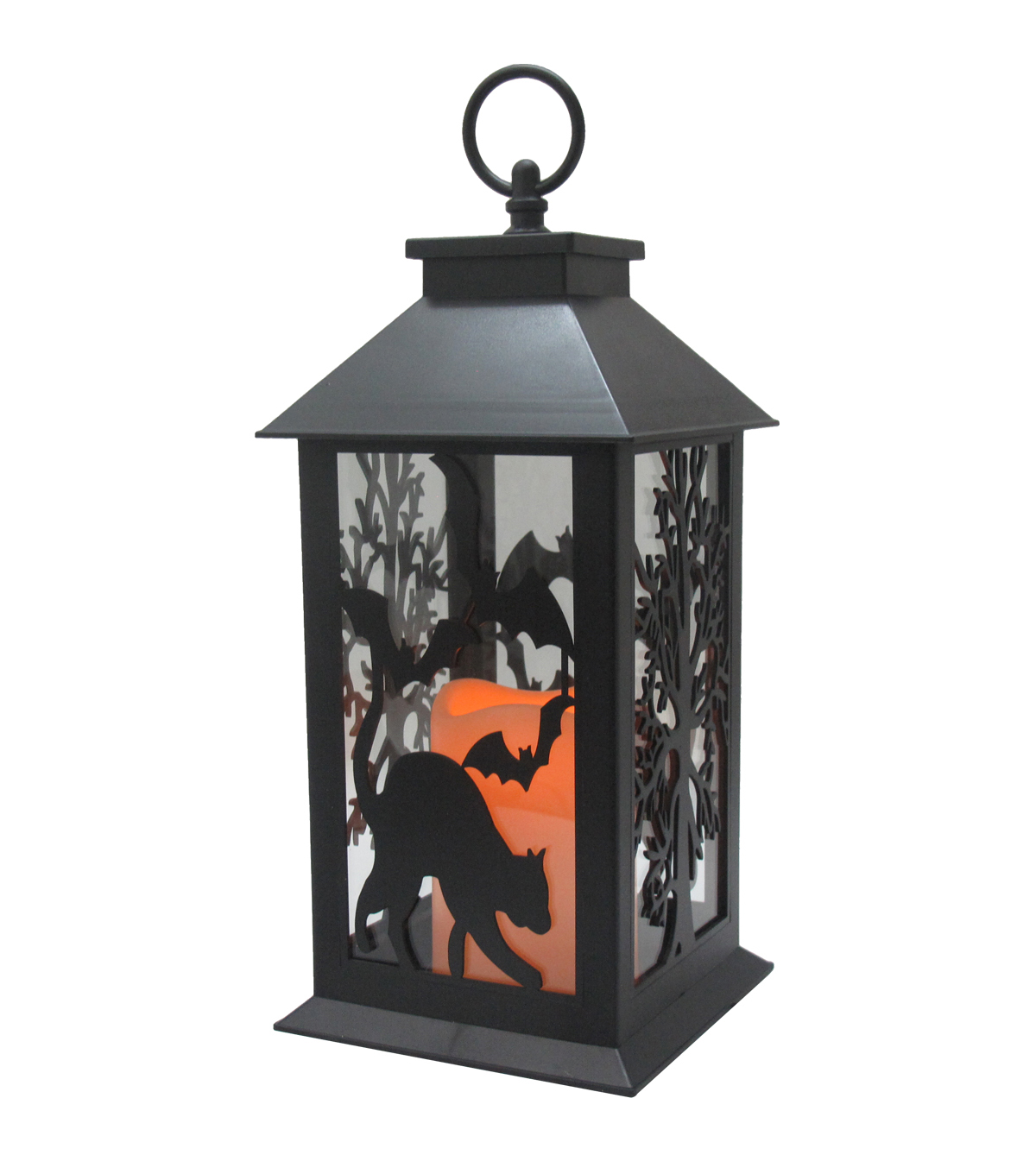Maker\u0027s Halloween LED Lantern-Black Bat