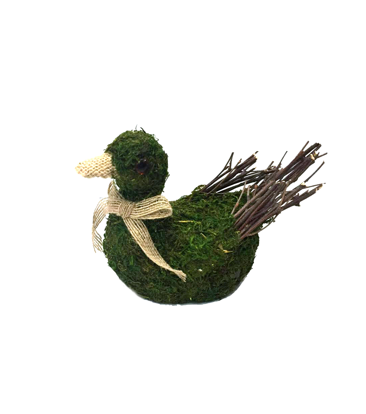 Blooming Spring Small Moss Goose