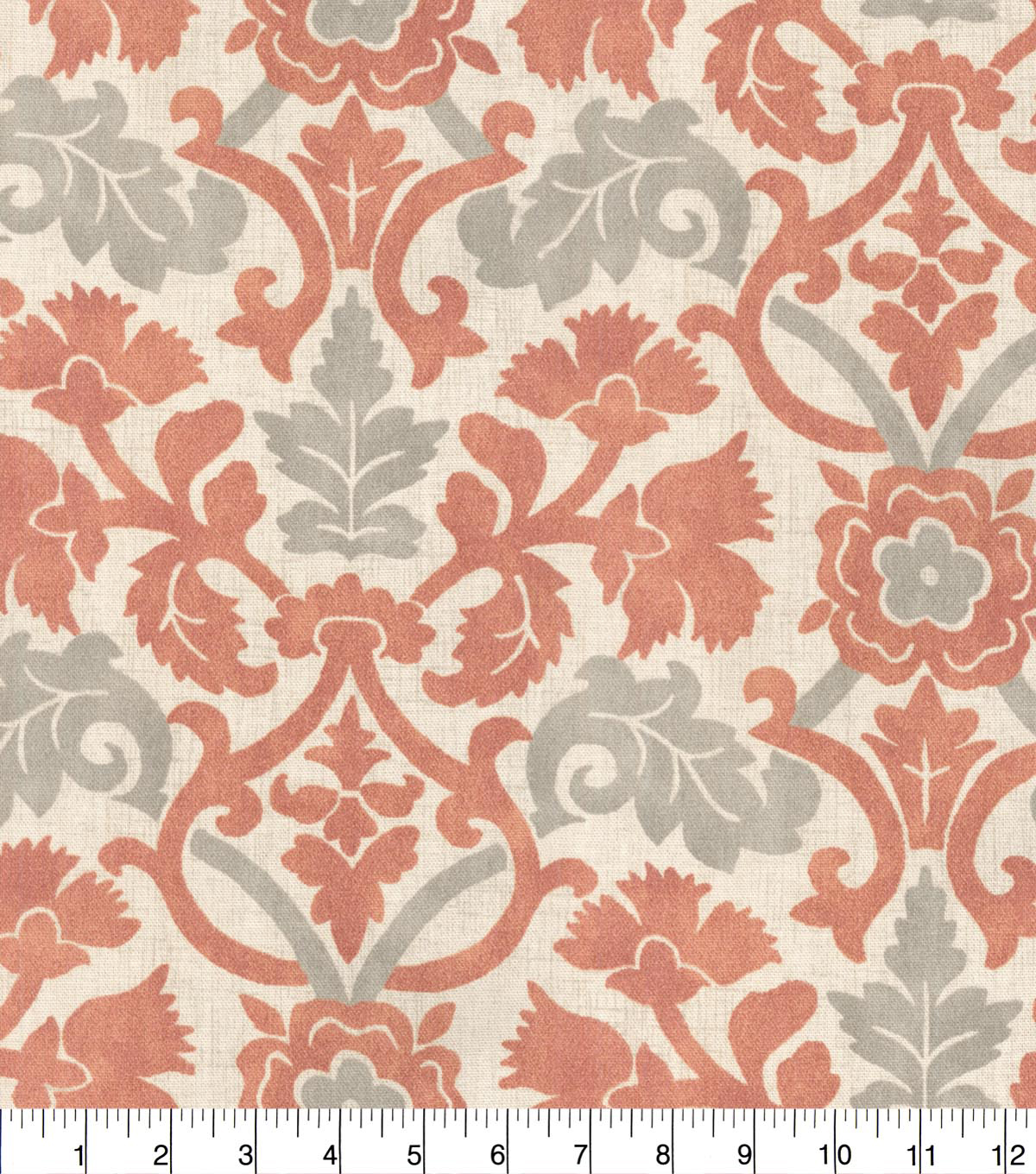 Waverly Upholstery Fabric 54''-Coral Anika