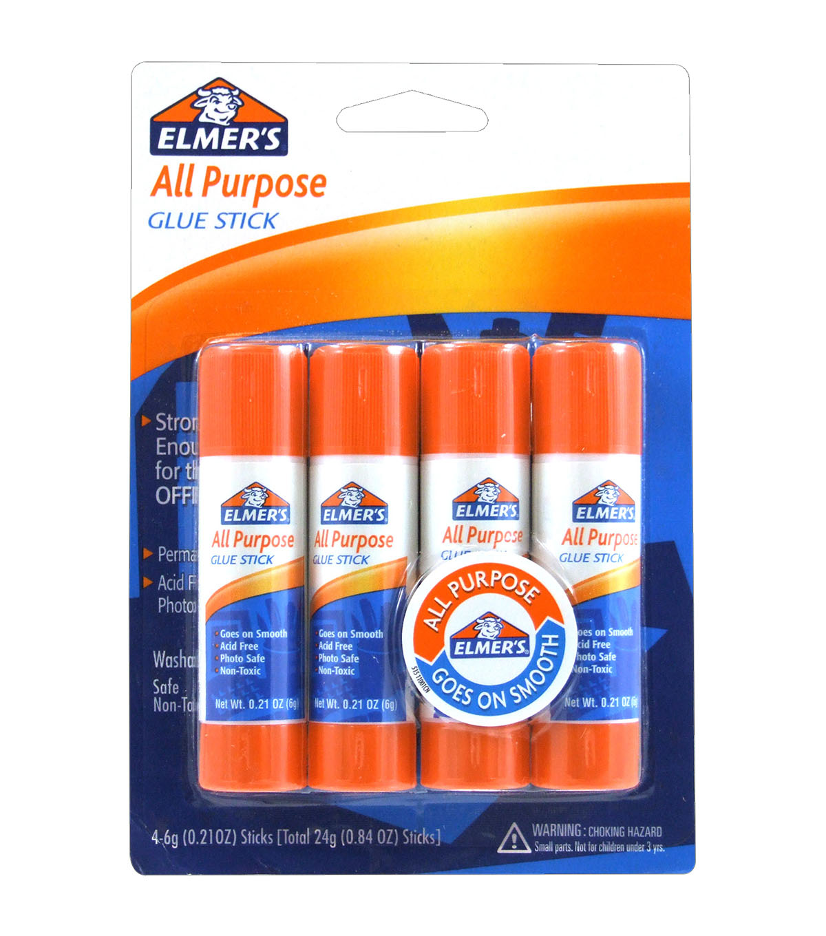 Elmer`s All Purpose 4 Pack Glue Sticks